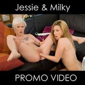 Jessie Volt vs Milky Cooper